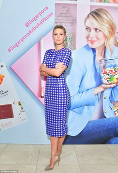 The sweetest thing: She created her sweet collection, Sugarpova in 2013. And Maria Sharapo...