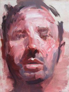 Self Portrait 40x30cm oil on canvas 2014 - Christian Halford