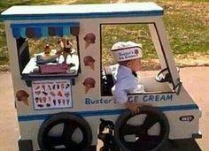 Disfras de halloween niño en silla de ruedas!