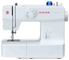 The Singer 1512 Promise Sewing Machine has 13 built-in stitches and pre-set stitch lengths and stitch widths. The sewing machine has a removable storage compartment provides a flat surface for sewing and many free accessories. Sewing Machine Online, Sewing Machine Reviews, Sewing Machines, Blind Hem Stitch, Easy Stitch, Thing 1, Sewing A Button, Sewing Basics, Janome