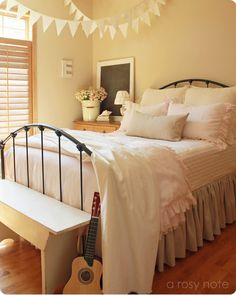 A Rosy Note: My Daughters Room (Inspiration for combining nursery with the guest room)