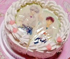 Cute Food, Yummy Food, Anime Cake, Neon Genesis Evangelion, Cute Cakes, Pretty Cakes, Aesthetic Food, Birthday Cake, Sweets