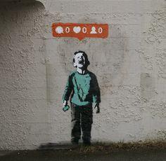 Digital Angst (#Social invalidation) : #art