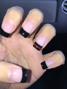 My nails! In support of my firefighter husband and all the firefighters around the world.