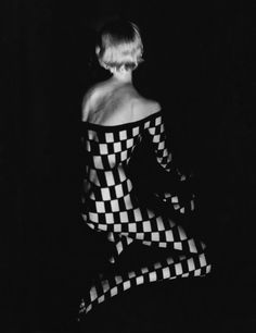 Fernand Fonssagrives :: Decollete Quadrille, 1950's
