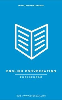 English Conversation Phrasebook by Smart English Learning Materials Vocabulary List, English Vocabulary, Easy English Conversation, Easel Activities, Ask For Help, Teacher Newsletter, Just Do It, Teacher Pay Teachers, Learn English