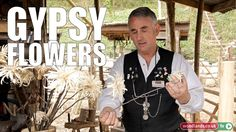 Ian Barnett demonstrates how to make wooden gypsy flowers using a draw knife and coppiced hazel. He shows the different effects achieved by using green wood . Sola Flowers, Wooden Flowers, Whittling, Flower Crafts, Wood Turning, Wood Projects, Gypsy, Carving, Make It Yourself