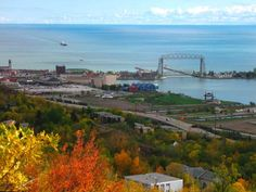 Duluth, MN on Lake Superior.  I have been here several times.  There is a maritime museum with an exhibit featuring the Edmund Fitzgerald.