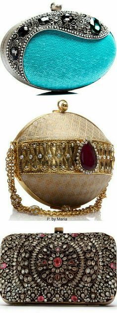 May my future hold a collection of these beautiful clutches, yes please