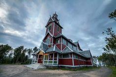 church at Gravdal in Lofoten, Norway by Benny Høynes on 500px