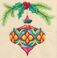 Antique Adornments Ornament 3 design (L6146) from www.Emblibrary.com