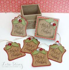 December Project Kit - Christmas Gift Tags and Mini Box Kit