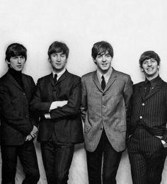 George Harrison, John Lennon, Paul McCartney, and Richard Starkey