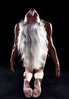 Long Gray Hair and A Beautiful Body / Alex B. by Marcello Pozzetti