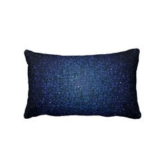 Blue Navy Glitter Sequin Disco Couch Throw Pillow might match