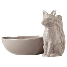 Patch Fox Bowl. $12.99 I sort of think this is like 75% more twee than I'm comfortable with, but it's also a kind of twee to which I'm susceptible, sooo.