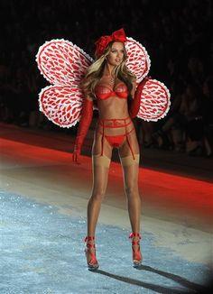 Candice Swanepoel Victoria's Secret Fashion Show 2012