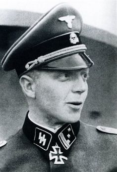 "✠ Fritz Klingenberg (17 December 1912 – 23 March 1945) Killed by a tank shell during a firefight with US armored forces. RK 14.05.1941 SS-Hauptsturmführer Chef 2./SS-KradSchtz.Btl der SS-Div ""Reich"""