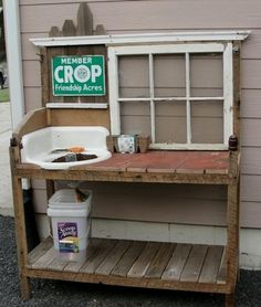 A little planting workshop space