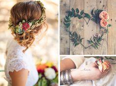 Le mood mariage des Marieuses #2 : inspiration bohème - Les Marieuses