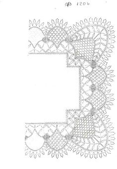 B Bobbin Lace Patterns, Tatting Patterns, Crochet Doilies, Crochet Lace, Doily Art, Bobbin Lacemaking, Vbs Crafts, Crochet Borders, Scrappy Quilts