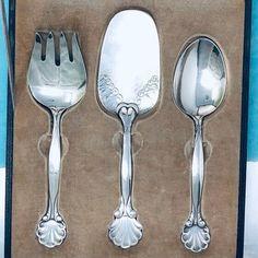 """Antique Vintage Signed Georg Jensen Acorn Sterling Silver Spoon 6 1//4/"""""""