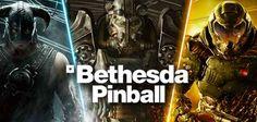 BETHESDA PINBALL per Android - arrivano i flipper di Doom, Fallout e Skyrim!!! Ennesimo colpaccio per Zen Studios!  La sua immensa collezione di flipper si espande ulteriormente con tre nuovi tavoli tripla A!  Da oggi potrete godervi sugli schermi dei vostri Android (e a br #android #flipper #pinball #videogames