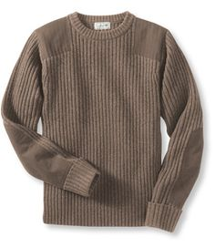 Commando Sweater, Crewneck: Sweaters | Free Shipping at L.L.Bean