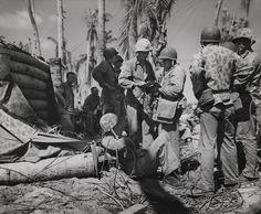 Commanding Officers, Tarawa, November 1943
