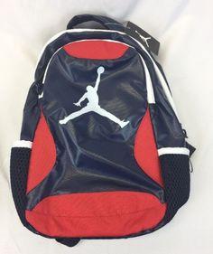 Nike Air Jordan Youth Kids Back Pack 16 x 9 x 6 8A1807-695 New 0b5ea04d5a0f8