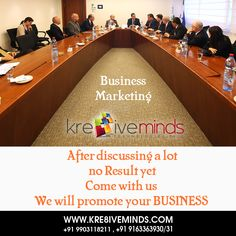 After #Discussing a lot no #Result come with us  we will #Promote  your #business.