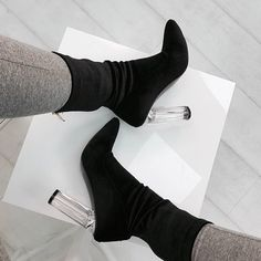 Perspex heels are life 20% off with CLEARAF  Shoes: Amina - £32.00 Shop: simmi.com #SIMMIGIRL