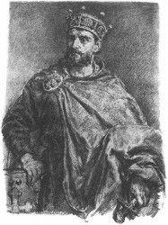 Mieszko II - autorstwa polskiego malarza Jana Matejko
