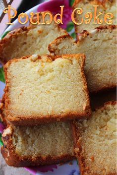 YUMMY TUMMY: Eggless Pound Cake Recipe / Cashew Pound Cake Recipe