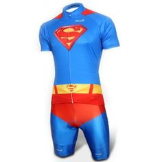Superman Blue Costume Cycling Kits Bicycle Suit Short Jersey - Cycling Suit-Campaign Categories - TopBuy.com.au Cycling Suit, Blue Costumes, London Marathon, Superman, Bicycle Jerseys, Wetsuit, Bike, Suits, Swimwear