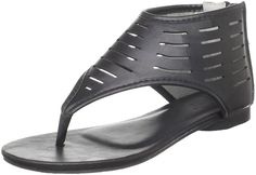 Wanted Shoes Fudge Thong Sandal (Little Kid/Big Kid) *** Check out this great image  : Girls sandals