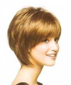 Short Layered Haircuts and Hairstyles  Many women think regularly about getting their hair cut in a short style but then they get too scared to do it. The problem for most women is that they're afraid that they aren't going to look good with...