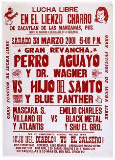Luche Libre Poster