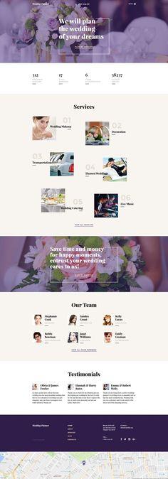 Wedding Planner Responsive Website Template - http://www.templatemonster.com/website-templates/wedding-planner-responsive-website-template-58268.html