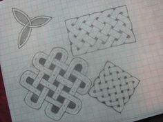 Drawing Celtic Knots #stpatricksday