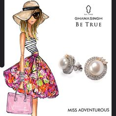 She travels the world without the worldly worries getting in her way. She isn't afraid to try new things & that's why she'll always #BeTrue to her diverse jewellery collection! She's Miss Adventurous.