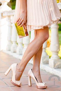 Pink Wedding Look Crimenes de la Moda