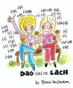 Dag van de lach - Blond Amsterdam