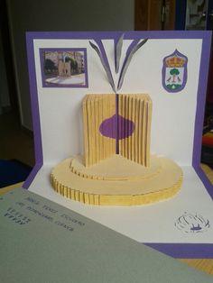 Kirigami. Rotonda del ajo de Las Pedroñeras, Cuenca