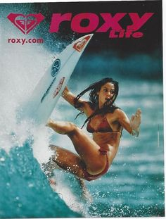 Barbados Surfing conditions are ideal for any level of surfer. Barbados is almost guaranteed to have surf somewhere on any given day of the year. Roxy Surf, Kitesurfing, Surf Girls, Poster Surf, Surf Posters, Wind Surf, Original Vintage, Surfing Pictures, Girl Silhouette