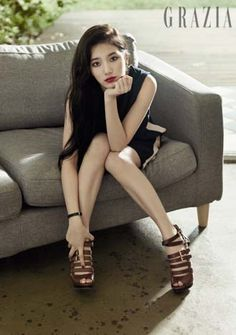 Miss A Suzy - Grazia Magazine September Issue '14