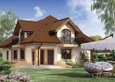 Projekat kuće sa potkrovljem i garažom – Minor