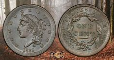 1839 Large Cent...A-1 Jewelry & Coin 1827 W. Irving Pk. Rd. Chicago, IL 773-868-0300     http://a1jewelry.jewelershowcase.com/  #a1jewelryandcoin