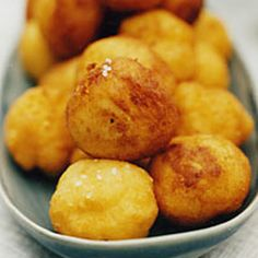Crispy, Creamy Potato Puffs