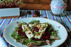 salada de beterraba assada com queijo e microvegetais Life in a bag by Hoje Para Jantar Temos